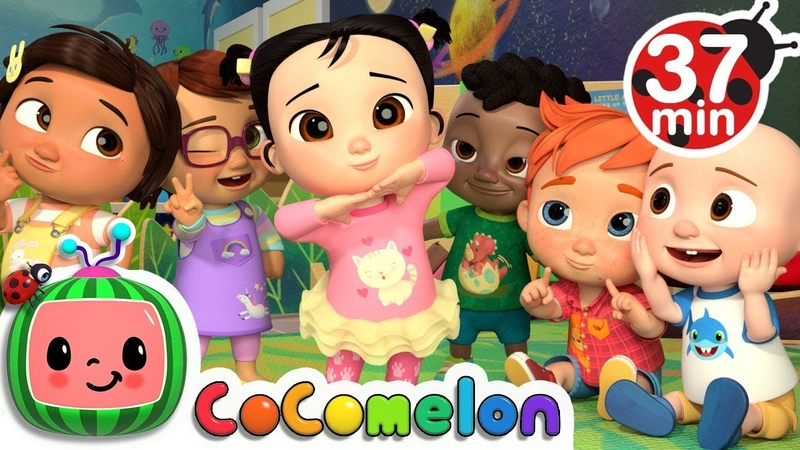Funny Face Song More Nursery Rhymes Kids Songs - CoCoMelon
