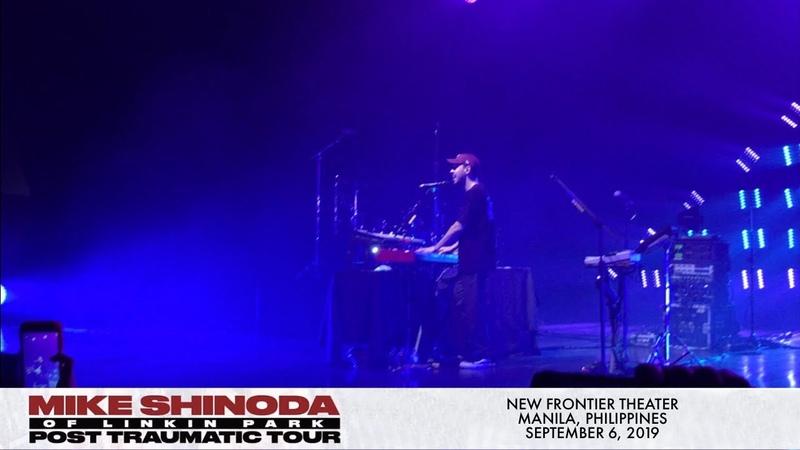 Mike Shinoda In The End Piano version Live in Manila 4K
