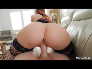 Dani Jensen - home milf pov red hair boobs busty big tits booty