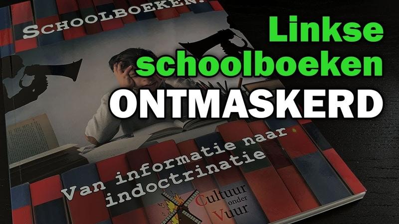 Linkse indoctrinatie in het onderwijs: schoolboekenrapport Cultuur onder Vuur