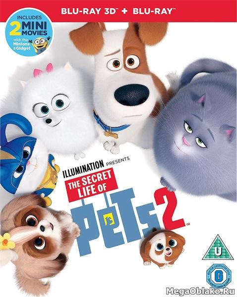 Тайная жизнь домашних животных 2 / The Secret Life of Pets 2 (2019/BD-Remux/BDRip/HDRip/3D)