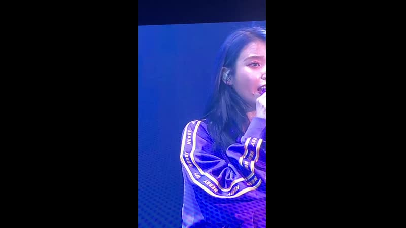 [FANCAM] 191109 @ IU - Ugly Duckling на концерте <LOVE, POEM> в Инчхоне (cr: dlwlrma1617)
