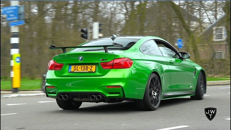 BMW M4 F82 Coupe w M-Performance Exhaust! SOUNDS!