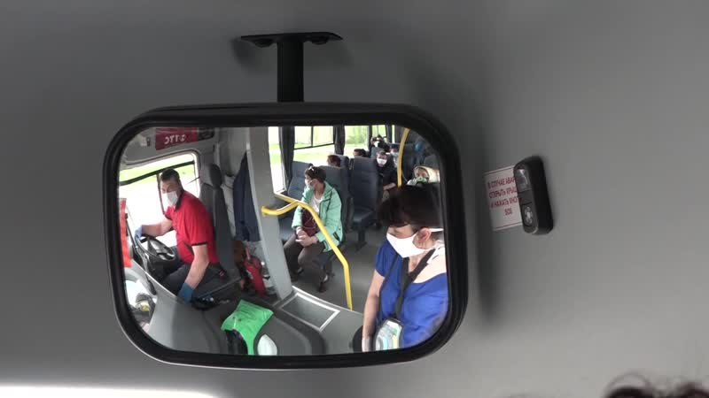 в Баймаке проверили наличие масок у пассажиров общественного транспорта