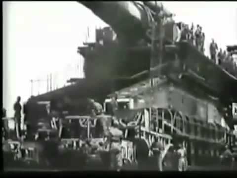 Ретро Любитель | Орудия гиганты «Дора и Густав» Вторая Мировая Война