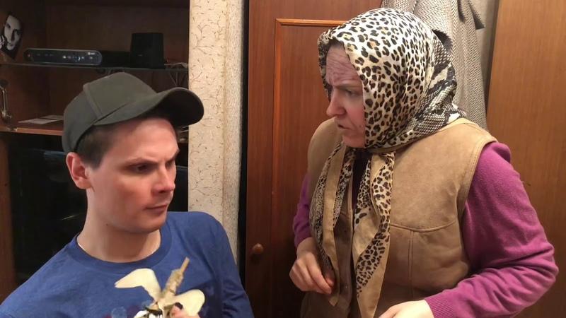 Бабушка и внук Горка gan 13