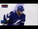 Nikita Kucherov gets Lightning's first of the season as he blasts it by Bobrovsky