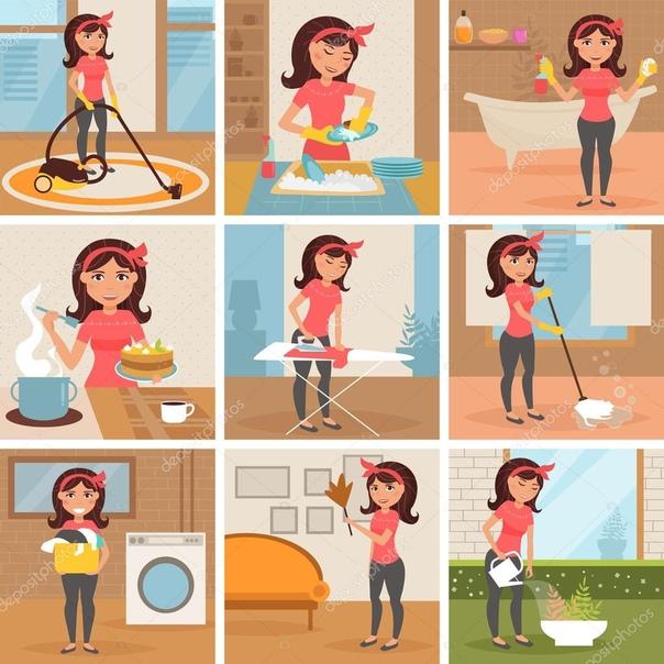 картинки как сделать нарисовать уборку