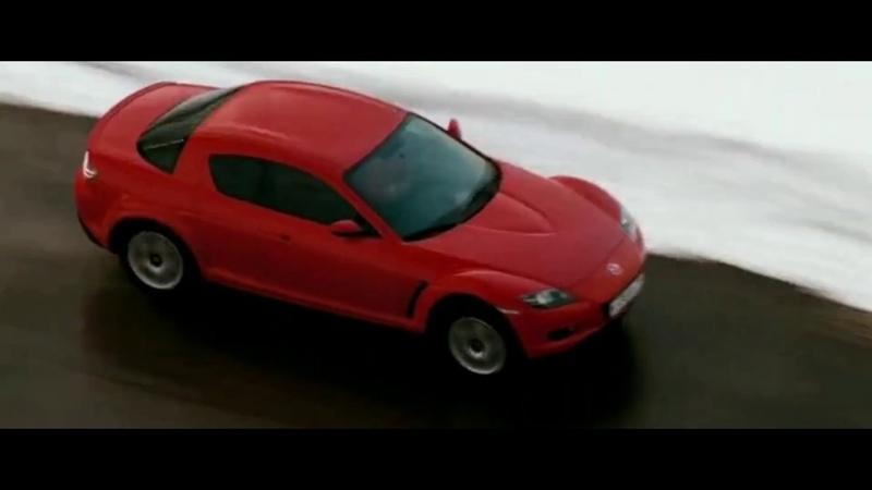Жанна Фриске за рулём машины Mazda RX-8   дневной дозор