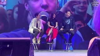 Брайан Декарт и Амелия Роуз Блэр, выступление [1 ДЕНЬ Comic Con Saint Petersburg 2019 ()]
