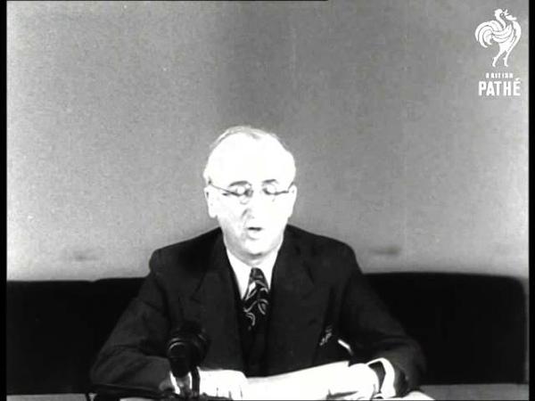 Byrnes Reports On London Talks 1945 1946