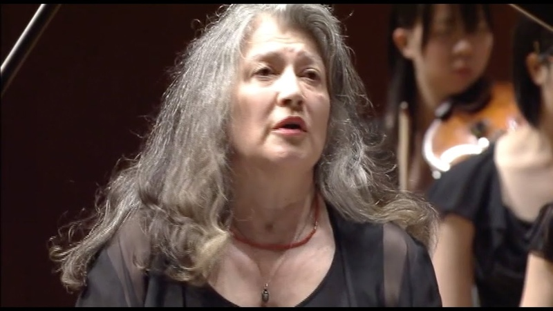 Martha Argerich plays Bartóks Piano Concerto No.3 (cond. Bashmet) - Japan, 2007