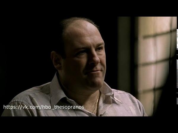 The Sopranos Клан Сопрано Тони переживает за сыр
