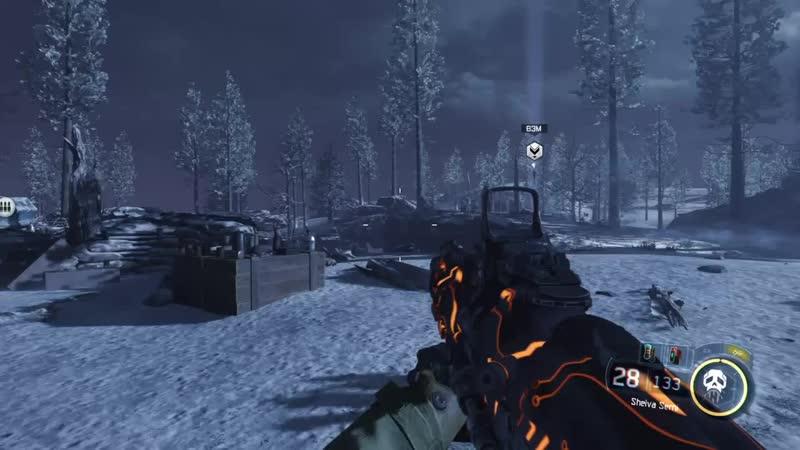 Call of Duty Black Ops lll Место для фарма оружия глитч Трофей медалист