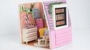 Minyatür Ev Yapımı   Kendin Yap Barbie Evi Yapımı - LambalıKadın