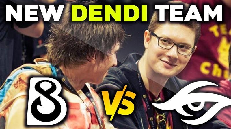 TEAM SECRET vs NEW DENDI TEAM B8 Puppey vs Dendi WePlay Mad Moon Dota 2