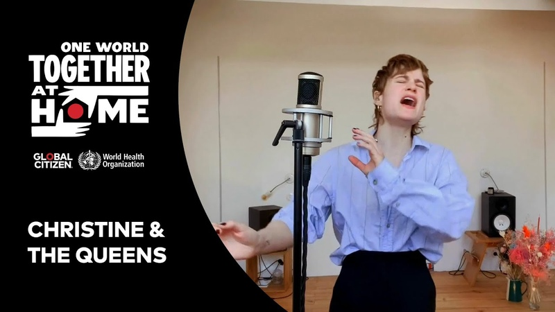 Christine and the Queens perform People I've Been Sad One World Together At Home