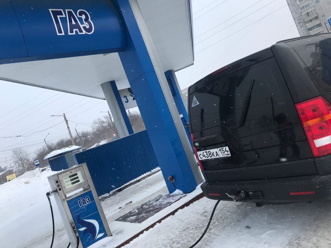 Установили ГБО, польское оборудование Alex