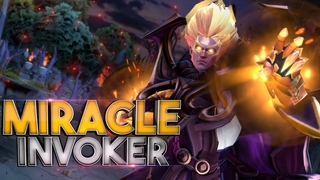 BEST INVOKER IN DOTA 2 - TOP 1 Miracle
