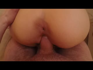 Hot Amateur Teen with Big Ass Fucked in Doggy POV [Teen Webcam Porn Amateur All sex Solo Dildo Anal]