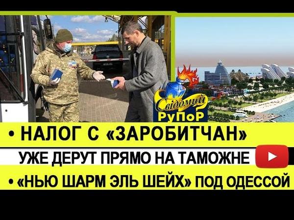 Налог с заробитчан уже дерут прямо на таможне Нью Шарм Эль Шейх под Одессой