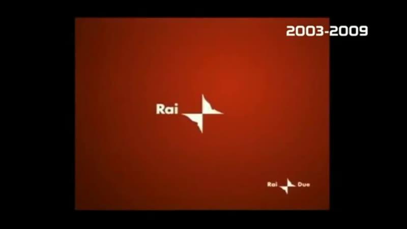 Основные заставки с тримя каналами RAI 2003 2010