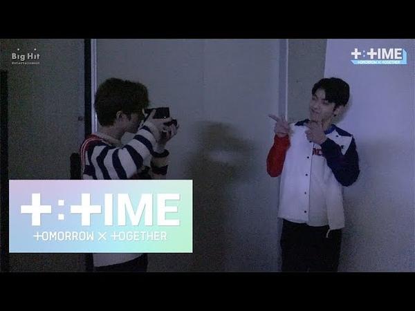 [T:TIME] Moments of BEOMGYU's Photo shooting! - TXT (투모로우바이투게더)