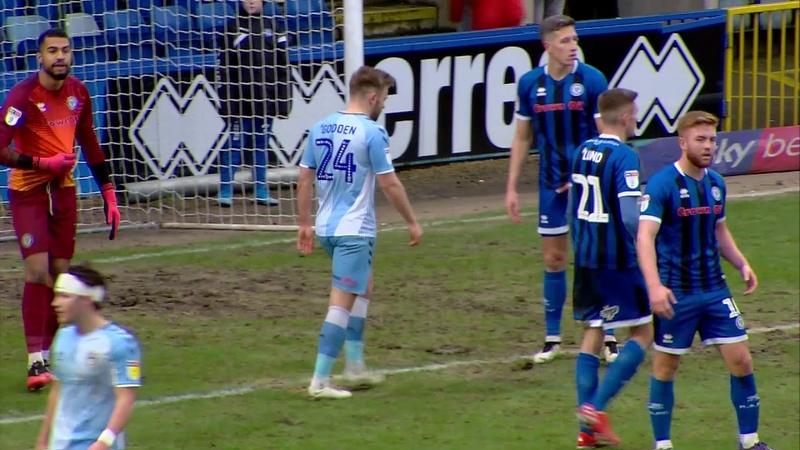 Rochdale v Coventry City highlights