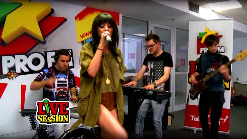 Alexandra Stan Get Back ASAP Mr Saxobeat @ ProFM LIVE Session