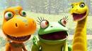Развивающие мультики про Поезд Динозавров для детей! Бадди встречает друзей. Сборник