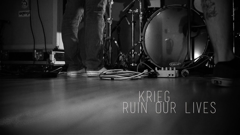 Krieg Ruin Our Lives Static Sessions Black Metal USA