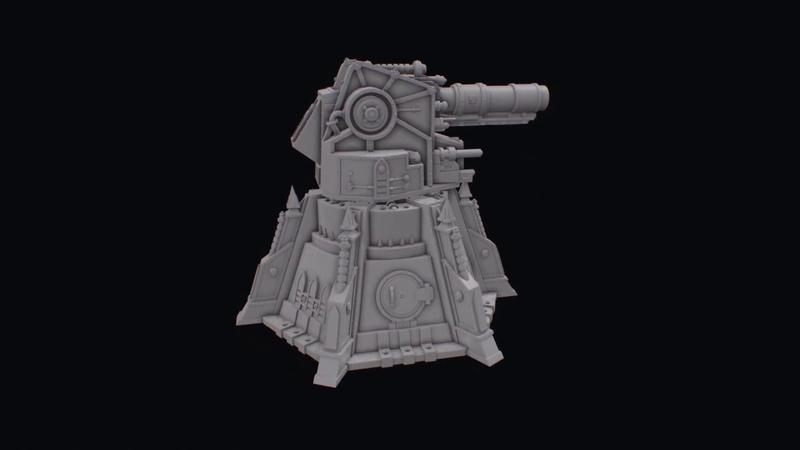 Vengence weapon battery 3d printable