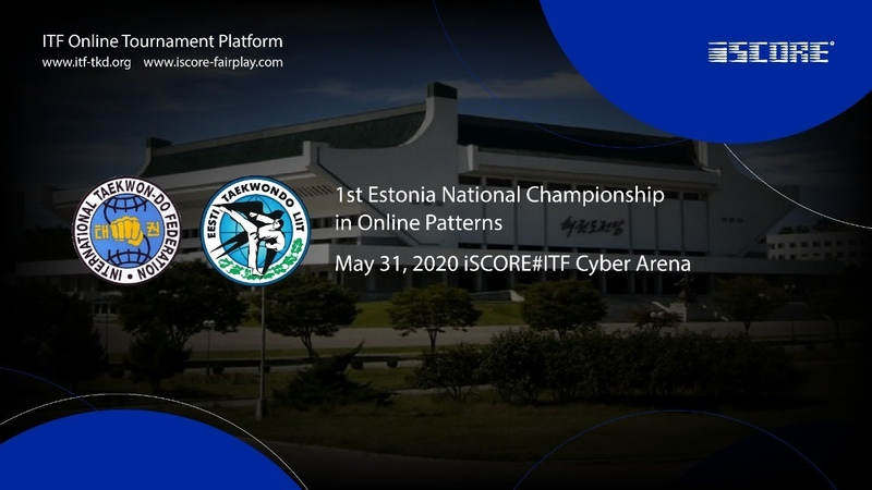 ITF Estonia Taekwon do Online Corona Challenge Sunday May 31 2020