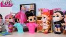 КУКЛЫ ЛОЛ СЮРПРИЗ ЗАБОЛЕЛИ 2 часть оставайтесьдома Мультик с куклами ЛОЛ Барби для детей