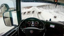 POV Driving Scania R580 - Reindeer on the road