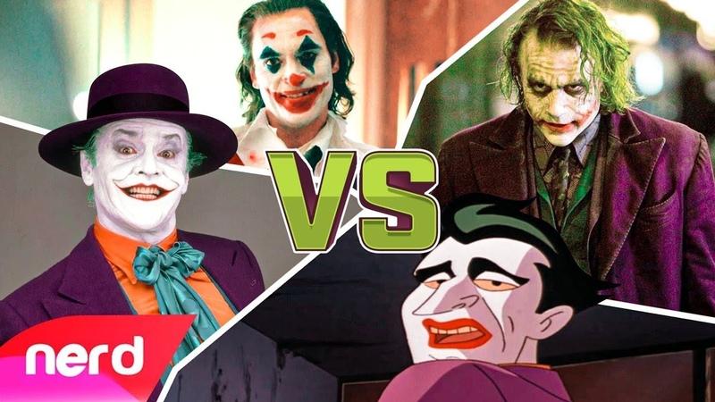 The Joker Rap Battle by NerdOut ft. Dan Bull, VideoGameRapBattles Dreaded Yasuke
