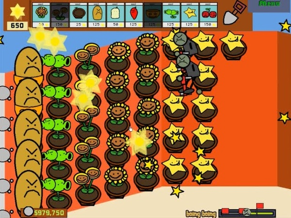 Plants vs. Zombies: Paint Pack Mod by knuxchux - Gameplay