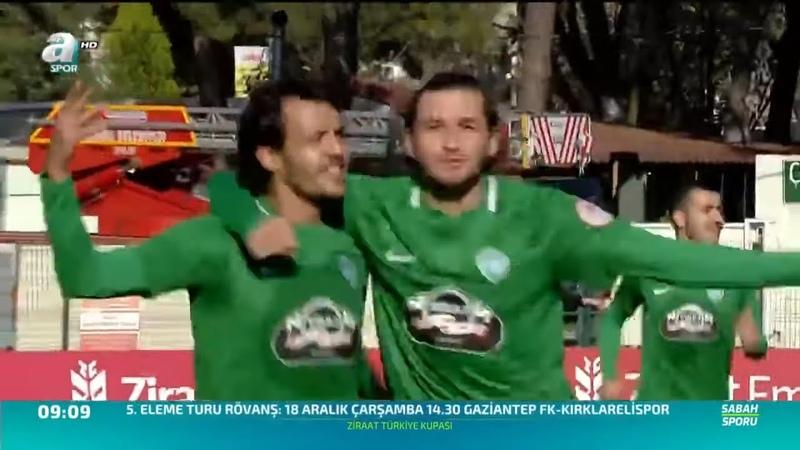 Kırklarelispor 2-1 Gaziantep MAÇ ÖZETİ (Ziraat Türkiye Kupası 5. Tur İlk Maçı)