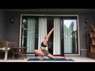 Хатха йога для растяжки и расслабления. Тантра. Вечерняя практика йоги.