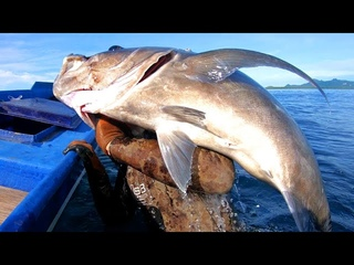 INDO TALES - EPISODE 6 (un)lucky GT.. traditional net fishing for soldierfish and grilling