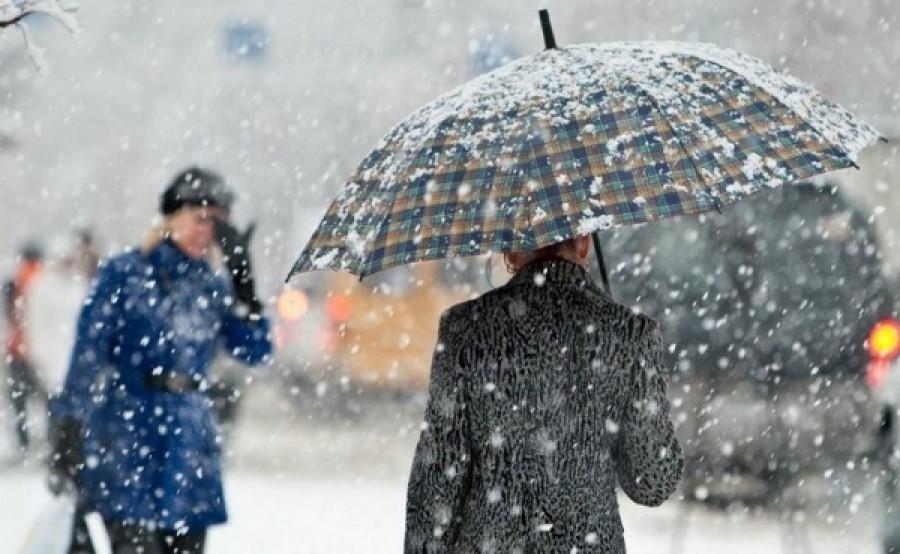 В Таганроге ожидается мокрый снег, гололед и ветер до 11 м/с