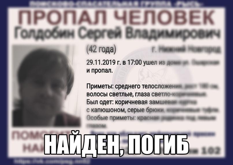 Голдобин Сергей Владимирович, 42 года, г.Нижний Новгород