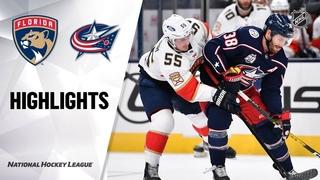 Florida Panthers vs Columbus Blue Jackets   , 2021   Game Highlights   NHL 2021   Обзор матча