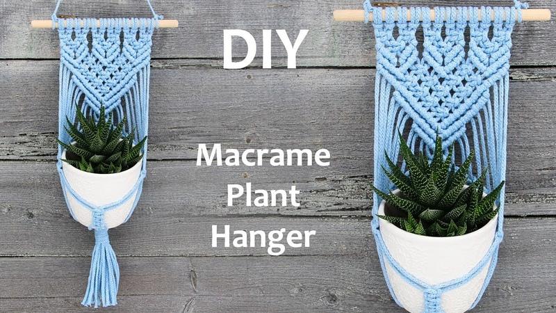 DIY Macrame Plant Hanger   Macrame Plant Hanger Tutorial   Macrame Wall Hanging Tutorial