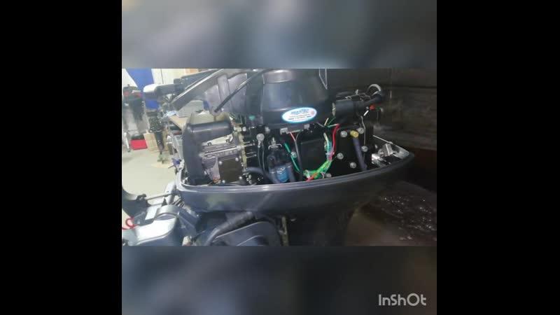 Лодочный мотор Mikatsu M 9 9 FHS двухтактный
