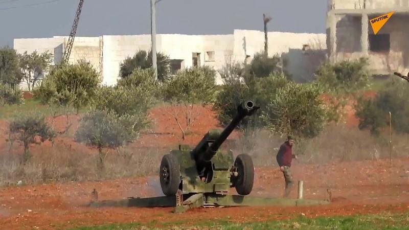 Les affrontements dans le gouvernorat d'Idlib en Syrie