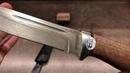 Нож Бекас орех, алюминий ZDI-1016 от Златоуст АиР