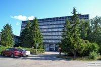 Тольятти: Здание учебного центра АВТОВАЗа. ТТК ВАЗа