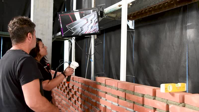 Augmented Bricklaying from Gramazio Kohler Research