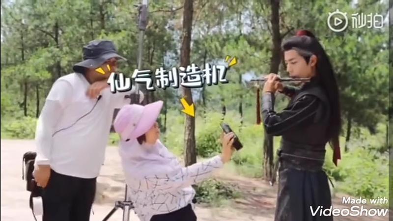 [Hậu trường] Trần Tình Lệnh (陈情令) siêu khó đỡ với độ nhiệt tình của đoàn phim phần 18